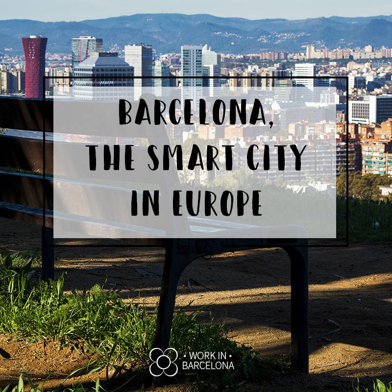 """Barcelona """"the Smart"""" city in Europe"""