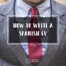 How to Write a Spanish CV