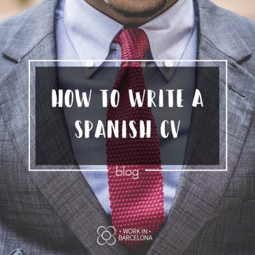How to Write a Spanish CV