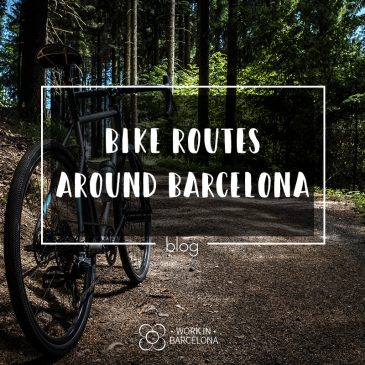 Bike routes around barcelona